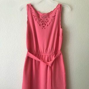 Pink Loft party dress